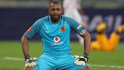 Itumeleng Khune shows off the awards in his house and shuts down doubters