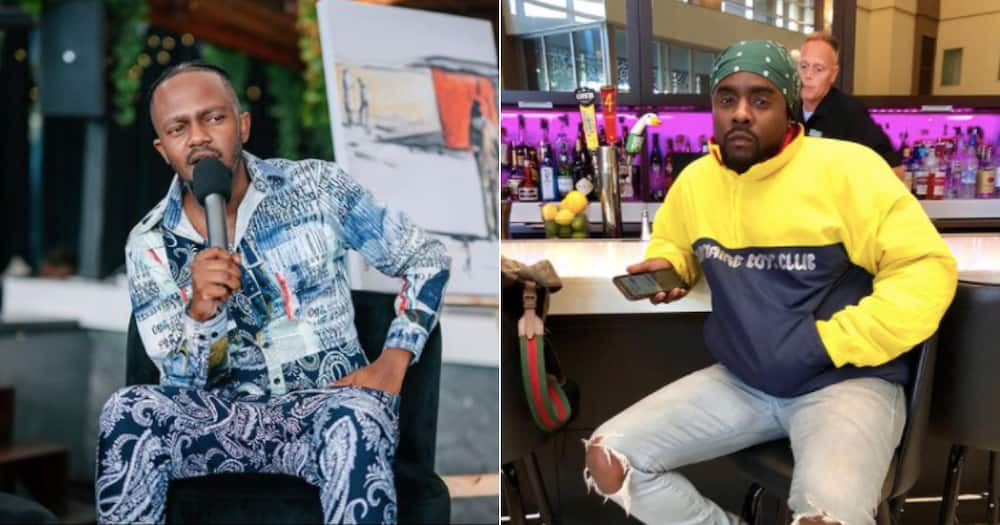 Kwesta and Wale serve major telecoms company with papers for what's theirs