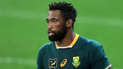 Siya Kolisi warms hearts online after gifting a spectator a pair of his rugby boots