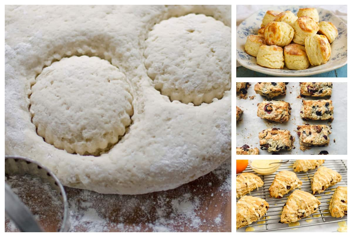 How to bake scones in south Africa
