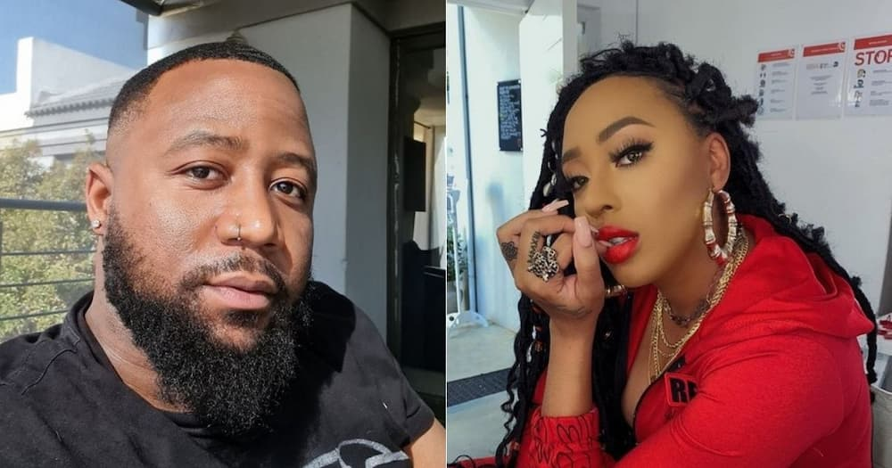 """""""Tension"""", Cassper Nyovest, opens up, about his relationship, with Nadia Nakai"""