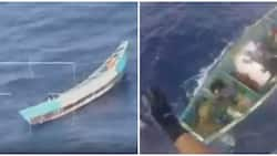Girl, 17, found alive on boat wandering at sea for over three weeks