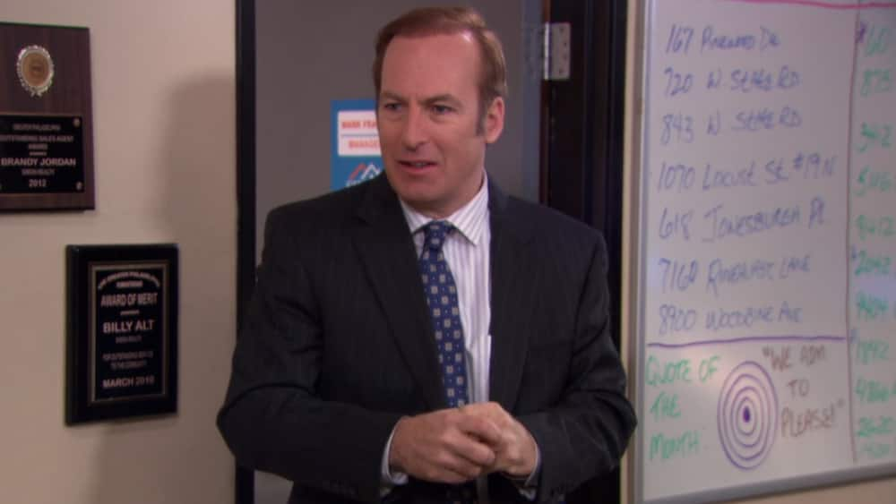Bob Odenkirk The office