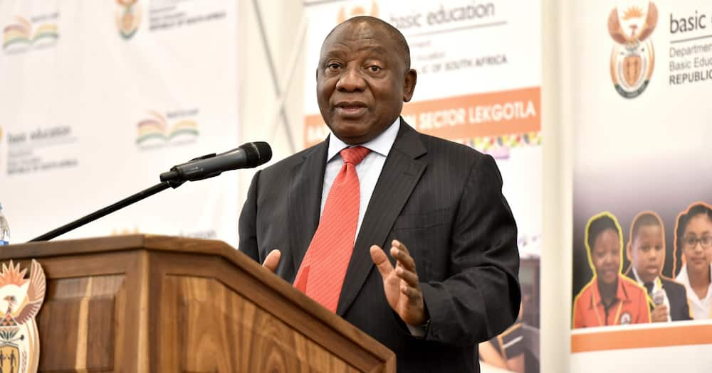 President Ramaphosa family meeting over covid19 Sunday afternoon