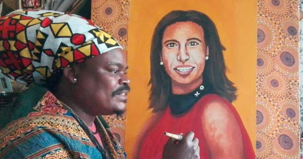 Rasta's latest portrait gets him roasted online, again