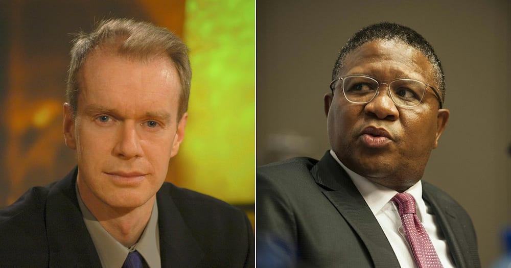 Fikile Mbalula, looting, BBC interview, Stephan Sackur, Hard Talk, Transport Minister