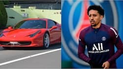 PSG star says he'd rather travel by taxi than 'boring' £170K Ferrari