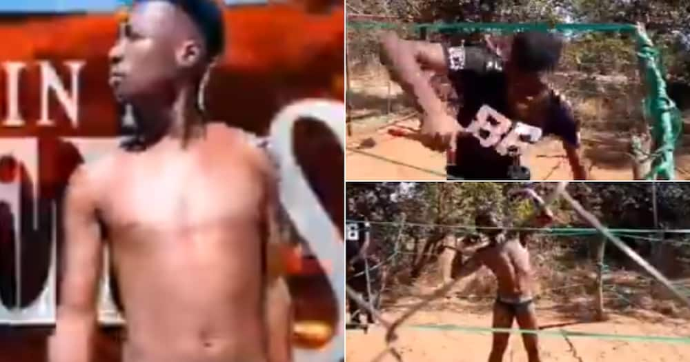 Cage Fighting, Jonh Cena, Randy Orton, Twitter reactions, Mzansi in stitches