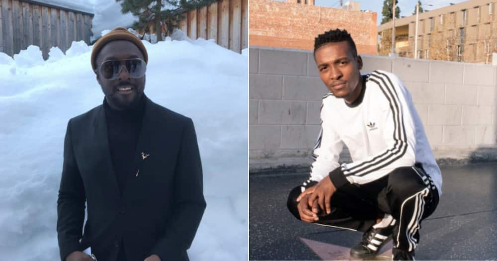 Mzansi social media users react to Will.i.am's apology to DJ Lag for plagiarising Ice Drop.