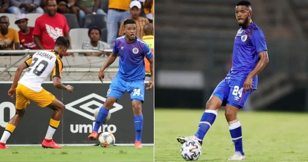 Mamelodi Sundowns and Kaizer Chiefs are set to battle it out for Sipho Mbule's signature. Image: the_real_master_chef_/Instagram