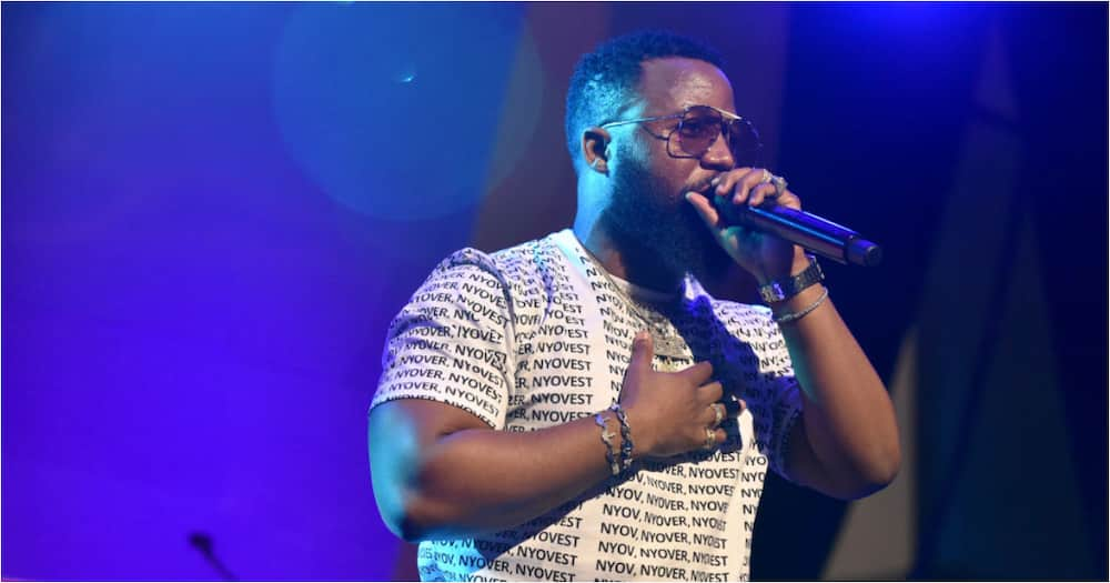 Cassper Nyovest's Any Minute Now merch sold out in only 20 minutes