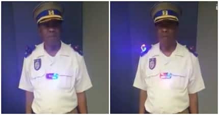 Robocop South Africa: Officer's uniform lights up and SA can't handle it