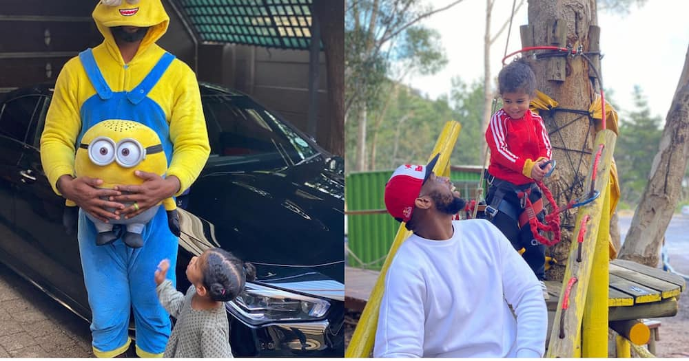 Siya and his daughter serve up some serious relationship goals in cute pic