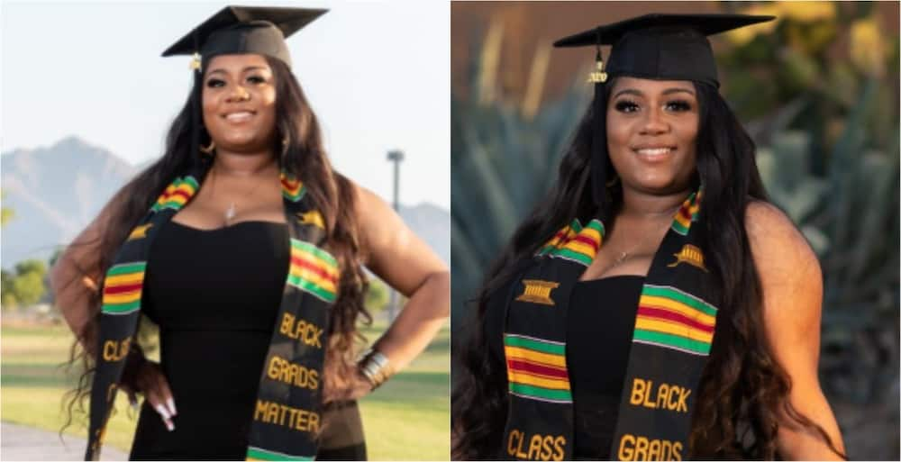 Ideal woman: Single mom of 2 boys celebrates as she graduates with degree in Health Science