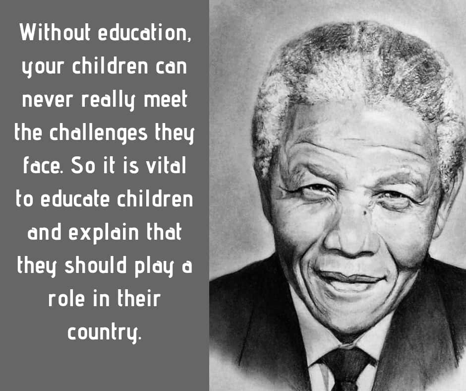 Inspiring Nelson Mandela quotes on education, leadership ...