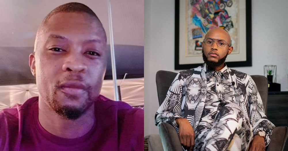 Mr Smeg Offers Somizi's Mohale a Shoulder to Cry On, Mzansi Can't Deal