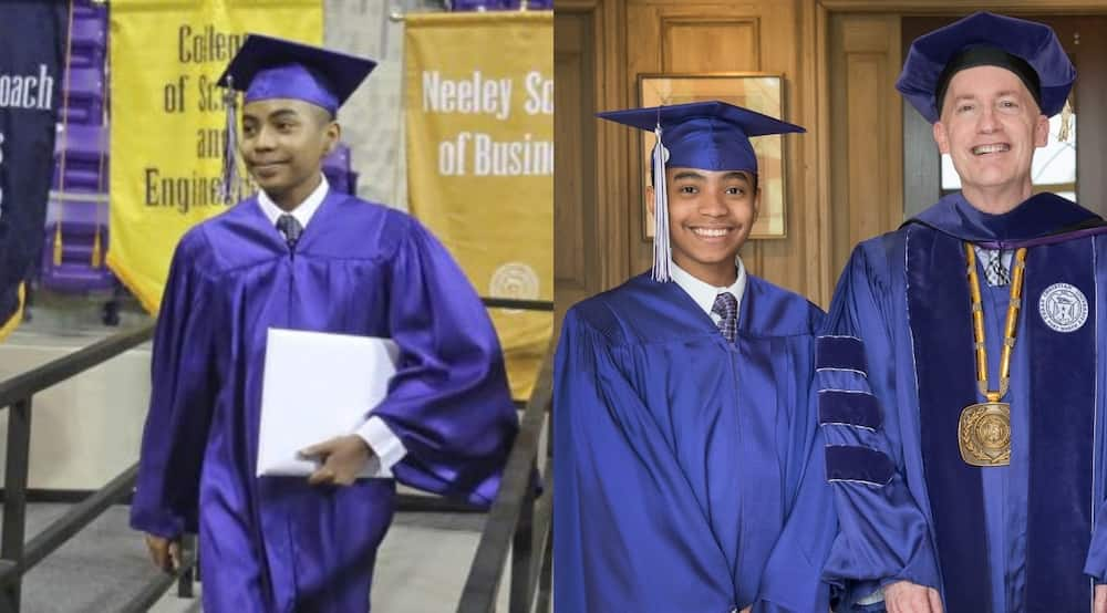 Carson Huey-You: 17-year-old brilliant boy gets master's degree