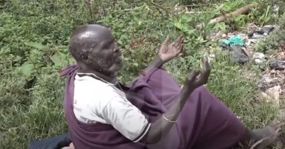 Ex-head teacher now street beggar after failing to get his pension