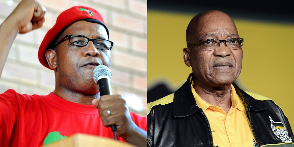 "Dali Mpofu Represents Jacob Zuma, SA Says: ""You Can't Trust These EFF People"""