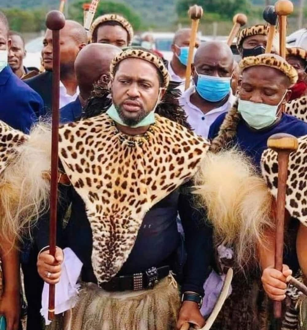 King Zwelithini first wife