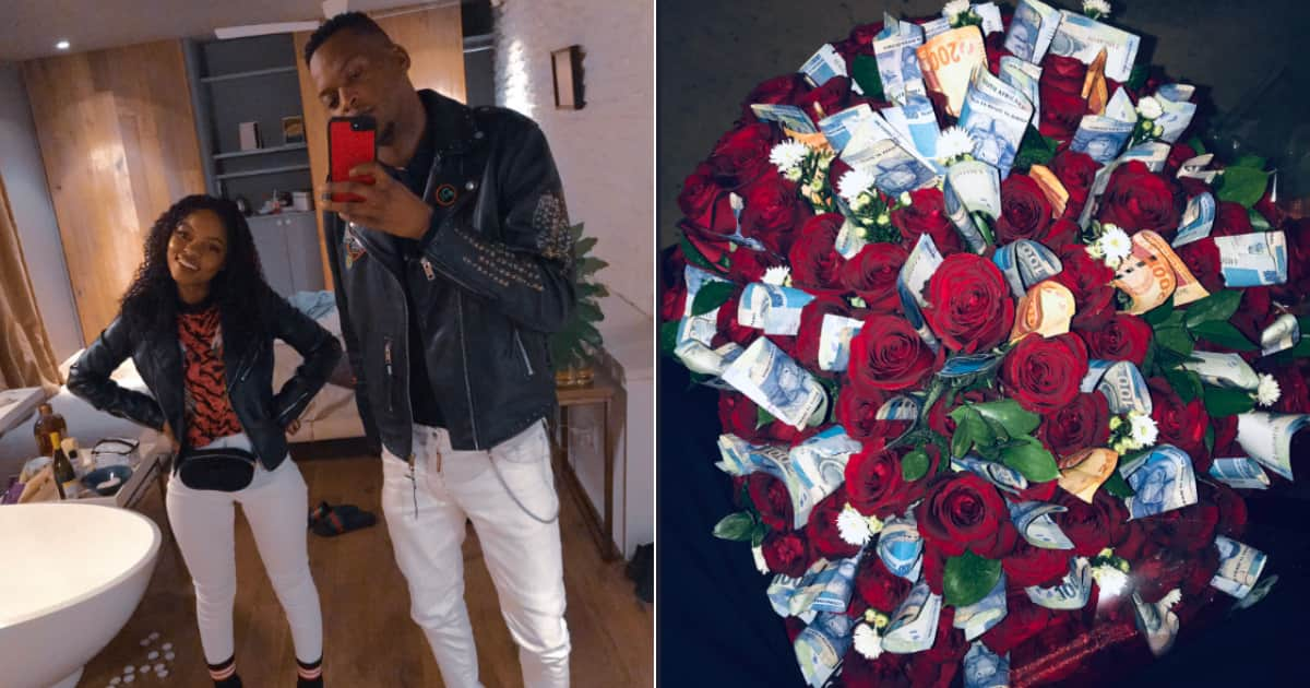 Riches And Roses Man Gifts Bae Loaded Bouquet For Her Birthday