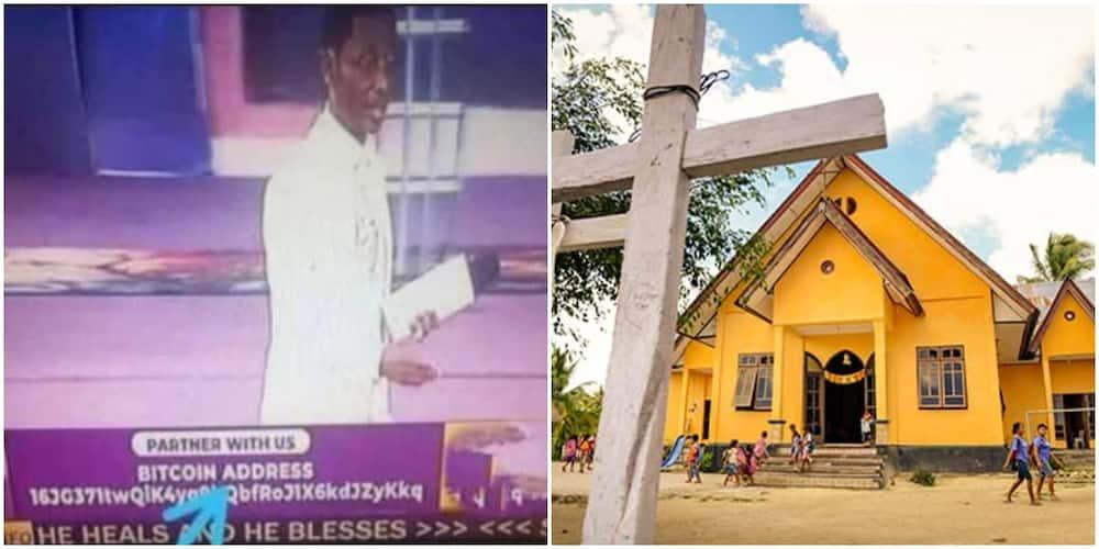 Nigerians react as church tells 'partners' to make financial commitments via its Bitcoin wallet