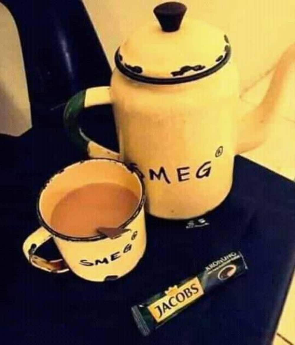 """SA laughing out loud with """"homemade"""" Smeg: """"Create your own happiness"""""""
