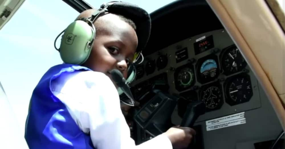 Meet brilliant 4-year-old boy who is already studying planes