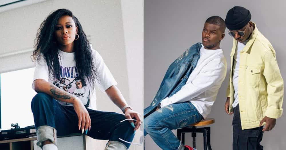 DJ Zinhle congratulates Black Motion on creating lit 10-year album