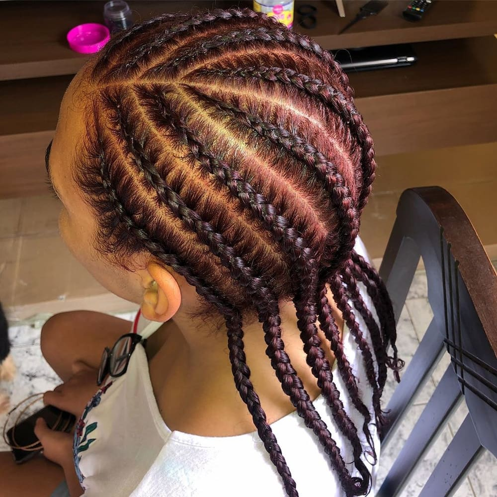 Top 25 Cornrows Hairstyles In South Africa 2020