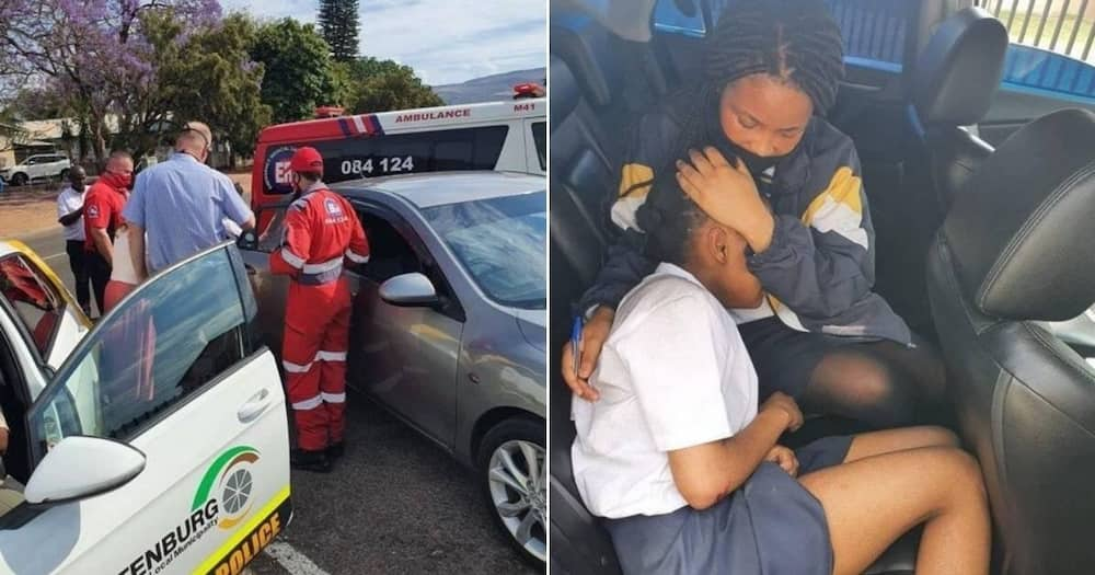 School girl escapes kidnappers by jumping out of moving car, SA reacts