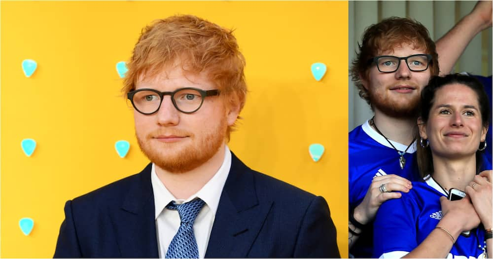 Ed Sheeran donates R4 million to high school he and his wife attended