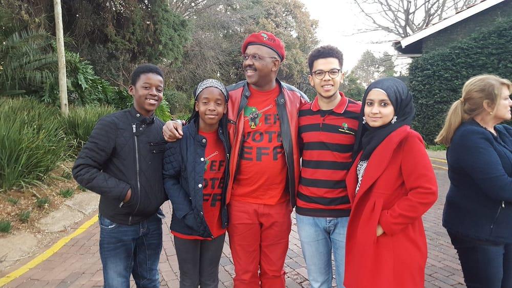 Dali Mpofu Children