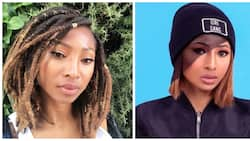 Hawu: Enhle Mbali shows gratitude to Black Coffee, confuses fans