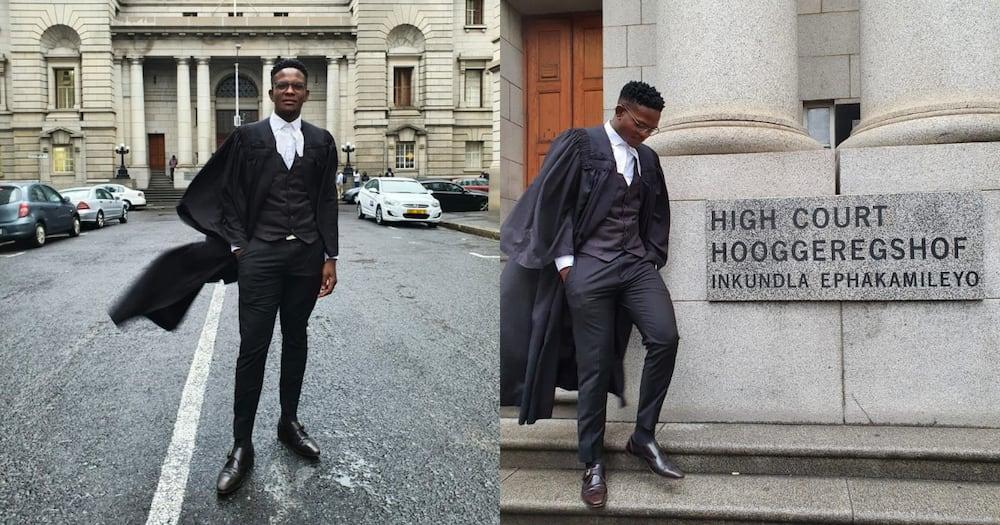 Man celebrates career achievement
