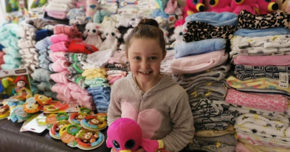Local hero: Girl asks for baby goods to donate instead of birthday gifts