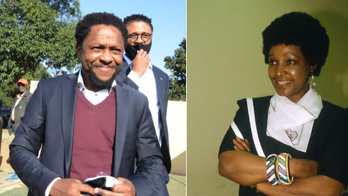 ANC vs EFF: Ndlozi shows love to Mama Winnie with sweet throwback pic, SA has mixed reactions