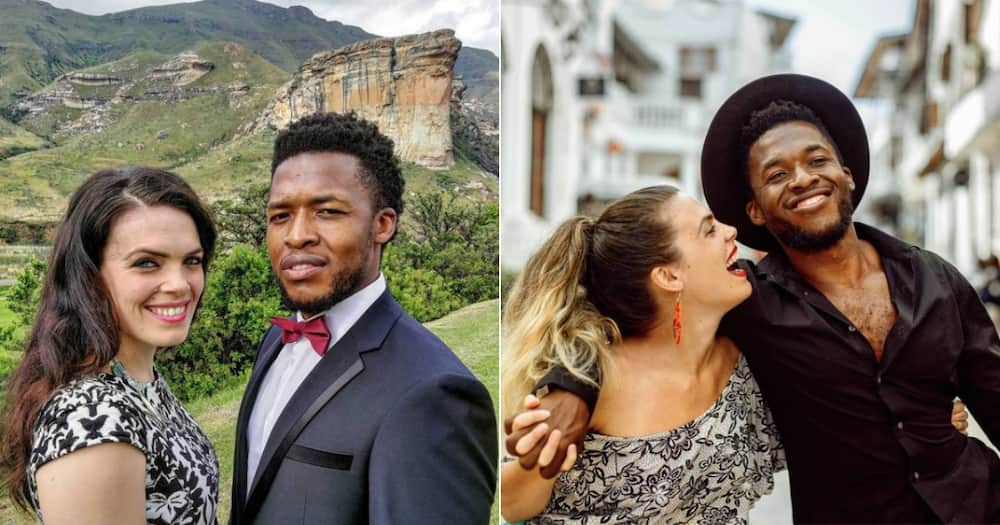 Mzansi actor Nyaniso Dzedze and his gorgeous wife are having a baby