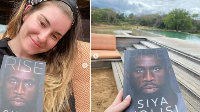 Supportive wifey: Rachel Kolisi reads Siya's story, says she sobbed and hopes people are inspired by his words