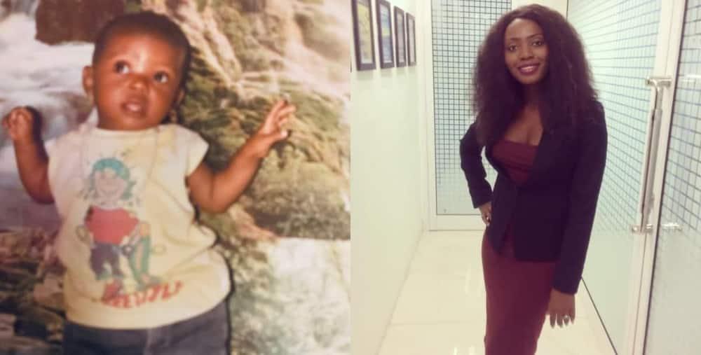 Girl who grew up in broken home celebrates making it in life