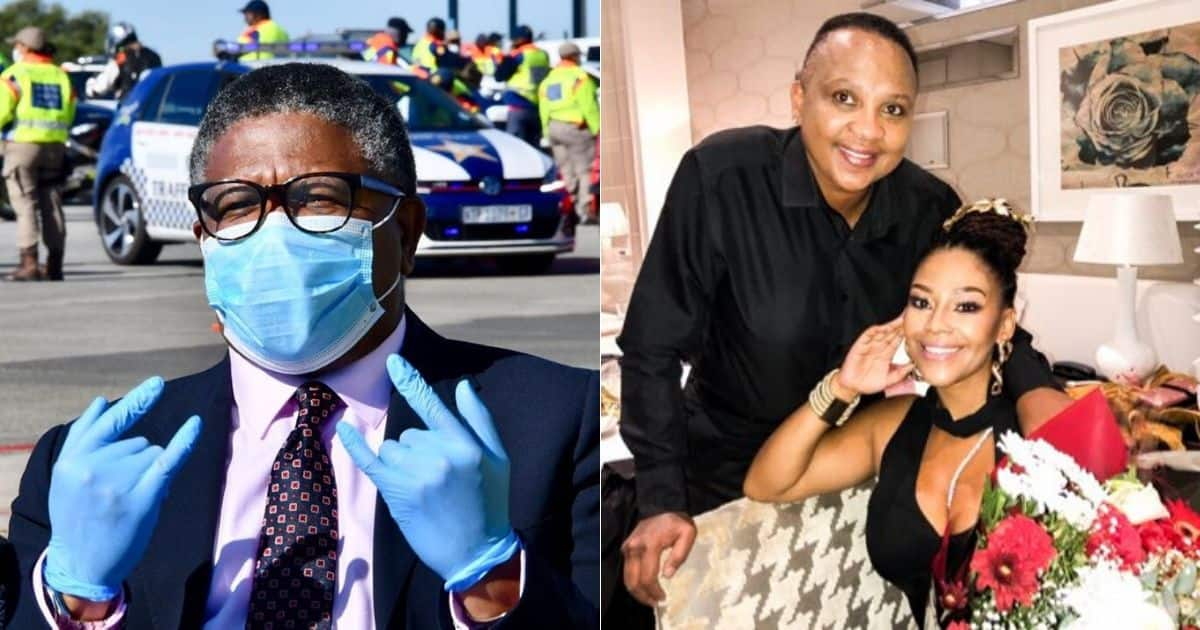 Mbalula tells Letoya Makhene and bae to practice social distancing - Briefly.co.za