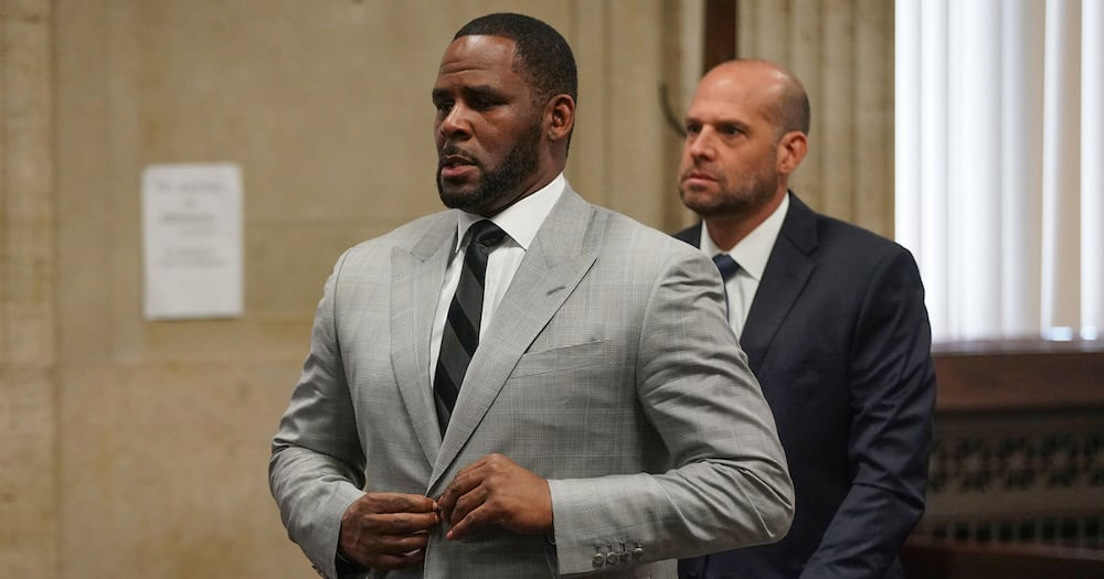 R Kelly, Crime, Court, Guilty, Celebreity, Music