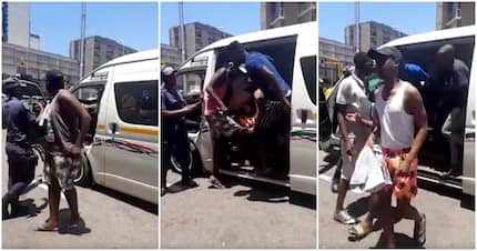 Metro police bust yet another overloaded taxi with 30 passengers