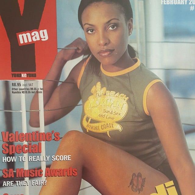 Zandi Nhlapo magazine