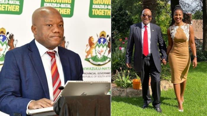 Haibo: Duduzile Zuma-Sambudla pokes fun at Premier Sihle Zikalala, Mzansi reacts