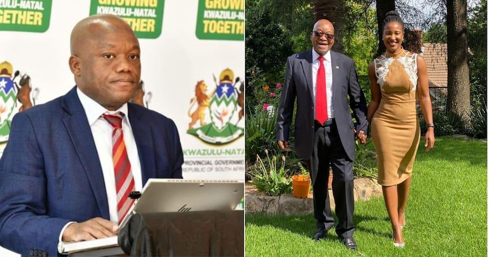 Duduzile Zuma-Sambudla, Fun, Premier Sihle Zikalala, Mzansi