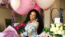 """""""I love you and hope I'll make you proud"""": Bonang celebrates her birthday in New York"""