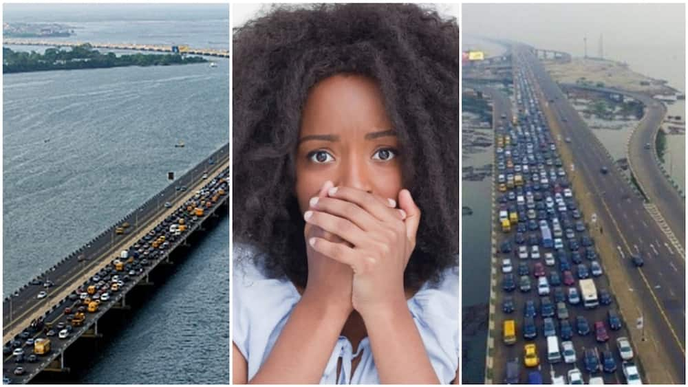 Lady turns down job of N190k salary because she is scared of Lagos 3rd Mainlad Bridge