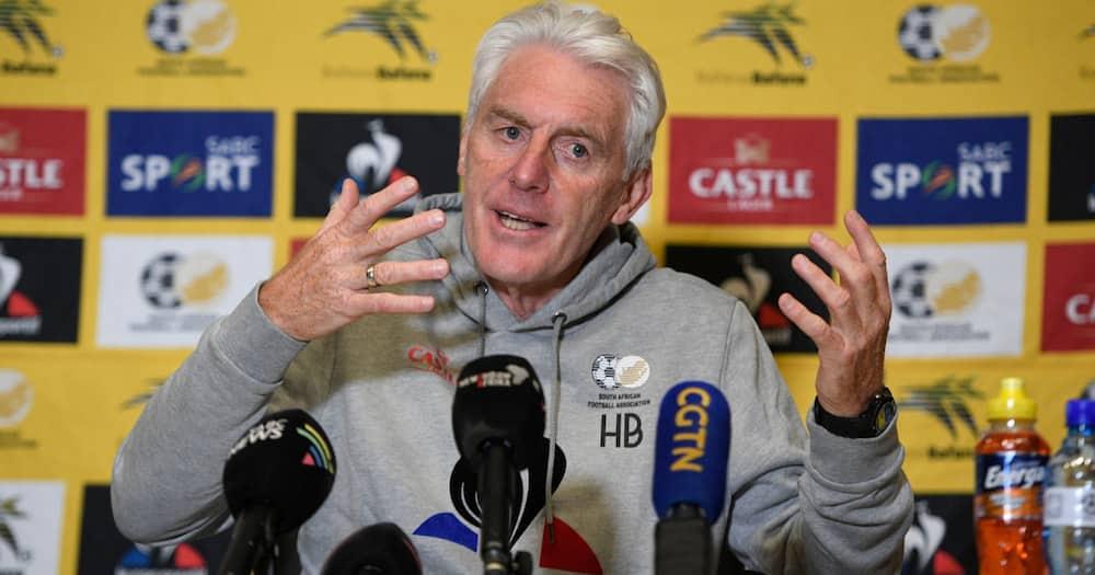 Bafana Bafana, Hugo Broos, World Cup qualifiers, Qatar, 2022, tactics, young squad, fans