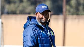 Spectacular: Mamelodi Sundowns coach Manqoba Mngqithi praises hardworking team
